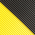Color swatch for Black w/Yellow Borders