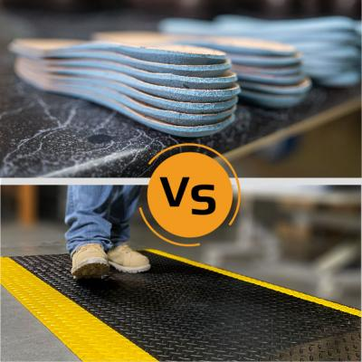 Mats Vs. Insoles: Read Before You Buy