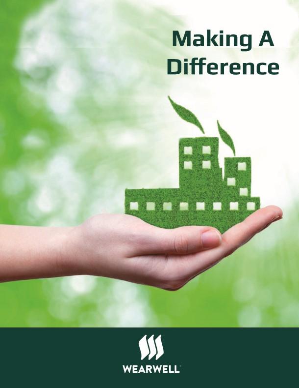 Wearwell green initiative brochure cover
