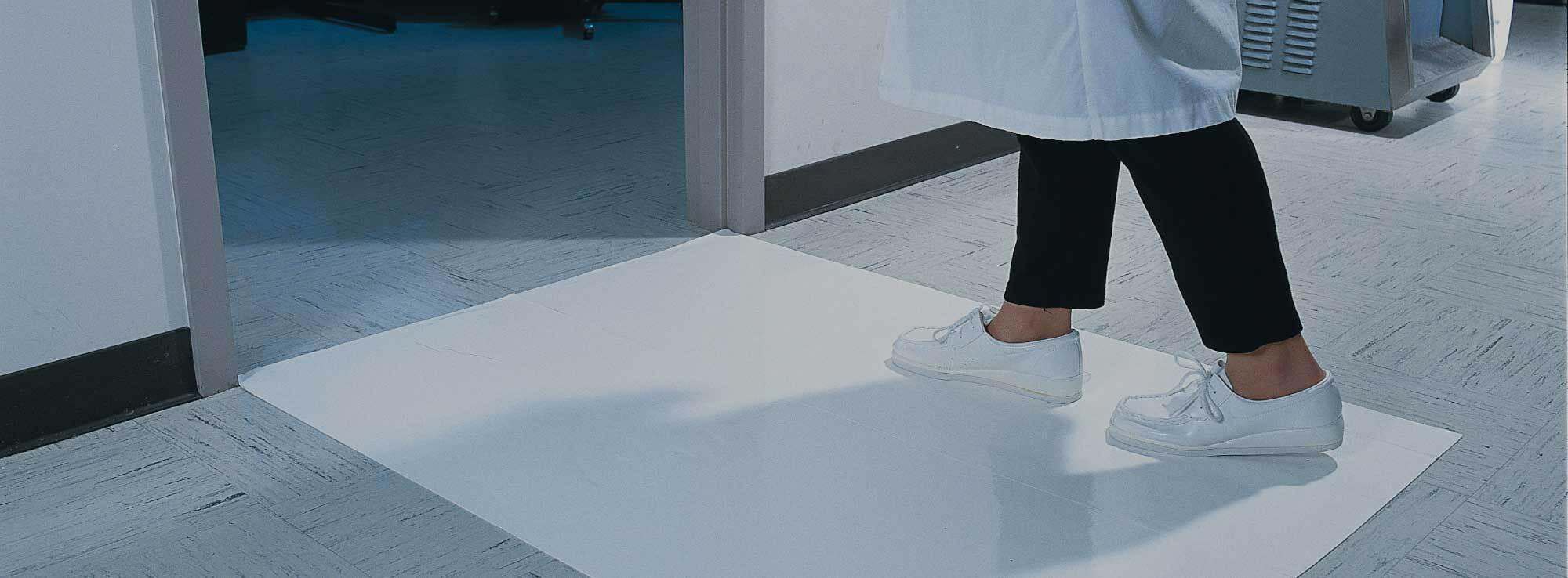 Clean Room, Mat, Tacky Mat, Tacky, Adhesive Mat, Adhesive, Contamination, Contamination Control
