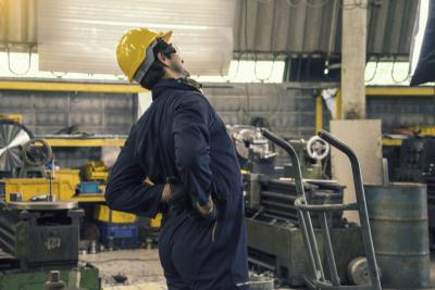 Reduction of Worker Leg & Back Pain Increases Productivity