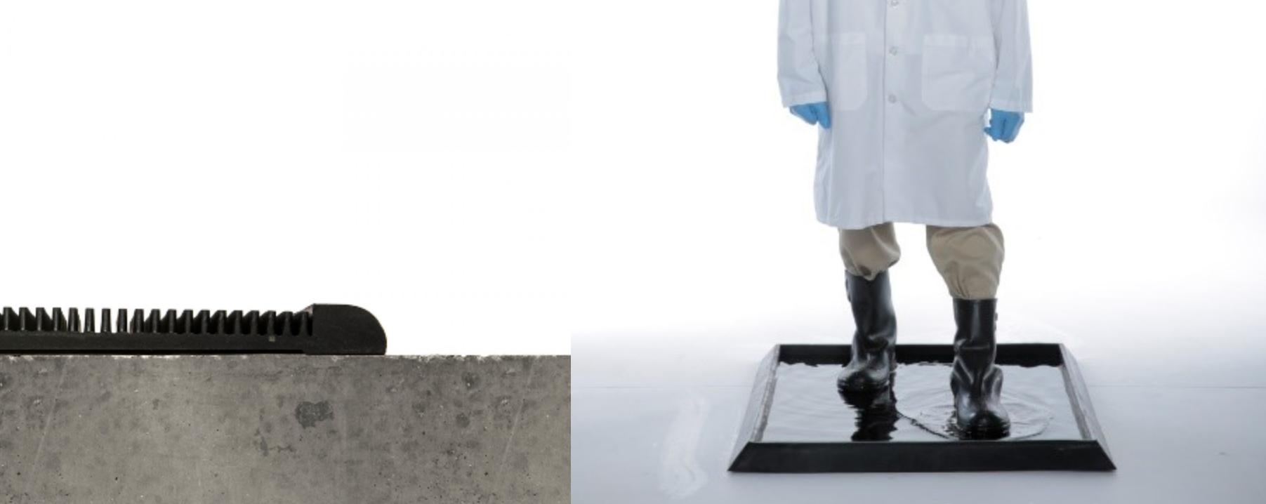 sanitizing mat, disinfecting mat, clean room mat,