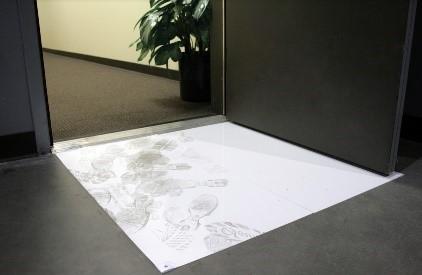 sticky mat, clean room mat, tacky mat,